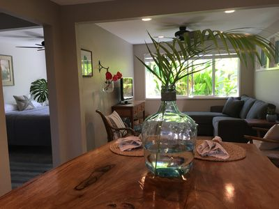 Photo for Private home lower level, Hale Plumeria is Close to Kona Town and beaches.