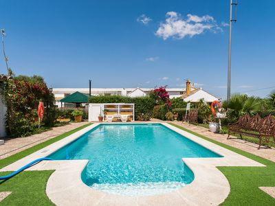 Photo for With lush, beautifully landscaped garden and pool - Finca La Casilla