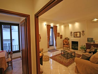 Photo for Apartment Romula, in the historic center of Rome, with 1 bedroom, can host 4 guests.