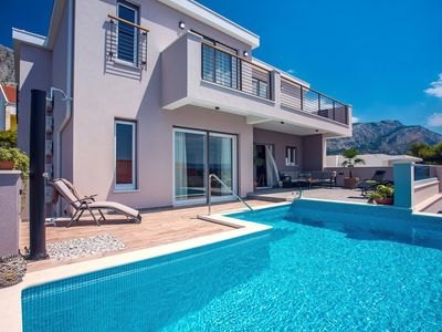 Photo for Brand new! Villa Antares with 4 en-suite bedrooms, a private Pool with massage