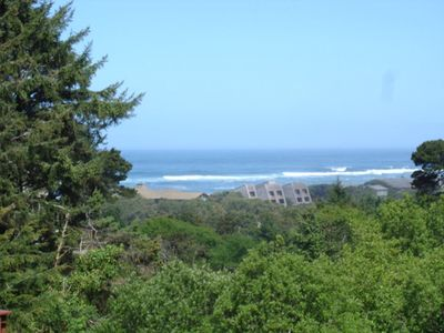 Photo for Salishan ocean view home with a great deck