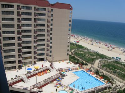 Photo for Lovely 3 Bedroom-2 Bath Oceanfront Condo Right on the Beach - Unit 904