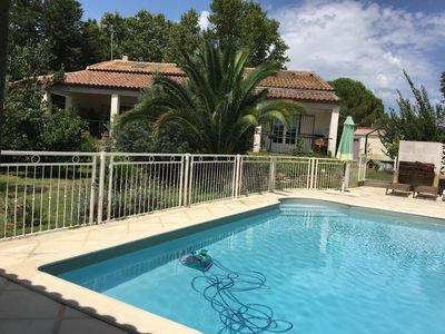 Photo for Beautiful villa with swimming pool and sauna, ideal holiday with family or friend