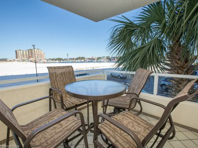 Photo for East Pass Towers 107 is a  2 BR with Harbor Views - Great Rates