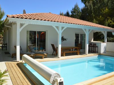 Photo for 4-star villa 200m from the north lake and bike paths, near golf