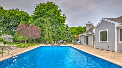 Photo for New Listing: Vibrant Westhampton Retreat Close to Villages and Beaches w/ Heated Pool