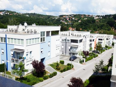 Photo for 4 bedroom penthouse apartment on hills of Zagreb
