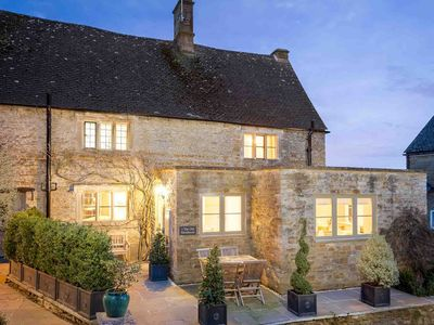 Photo for The Old Farmhouse is a beautiful Grade II listed Cotswold stone cottage in Little Rissington.