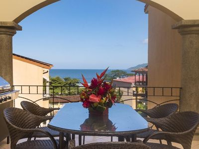 Photo for Ocean View 3 BR penthouse condo, steps from Tamarindo Beach! (SR20)