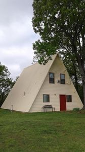 Pettit Mtn. Ranch Multi-family Friendly A-frame Cabin on 37 Gated Acres