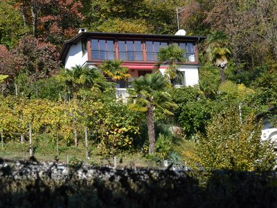 Photo for Peaceful, relaxing holiday in beautiful Ticino: Casa Robina in Pura
