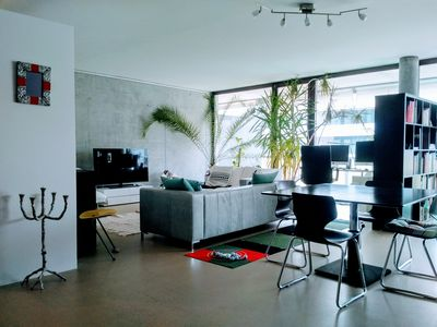 Photo for Modern Loft Apartment in a quiet area of Winterthur, 30 minutes from Zurich City