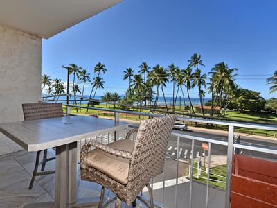 Photo for Ocean Views From All Windows! Renovated & Across From The Beach Island Surf 306