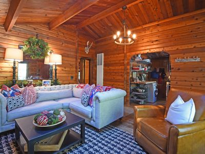 Photo for Newly Renovated and Decorated Original Log Cabin in Timberland