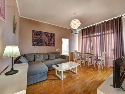Photo for 1BR Apartment Vacation Rental in Kyiv, Kiev