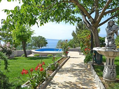 Photo for 2 bedroom Apartment, sleeps 4 in Bašić with Pool and WiFi