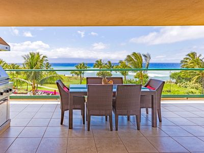 Photo for Maui Resort Rentals: Honua Kai – 6 Bedroom Oceanfront Gem, Stunning Ocean Views, Over 4500 combined Sq. Ft. w/ 2 Built-in Viking B.B.Q.s