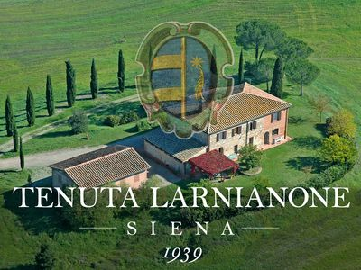 Photo for Beautiful farmhouse nestled in sweet hills just minutes from Siena Tuscany