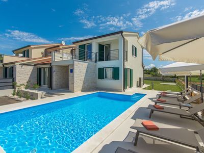 Photo for Holiday House  with private pool in a quiet location with garden and grill