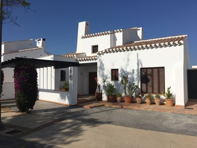Photo for Luxury Mediteranean Style, 3 bedroom single storey Villa with Pool