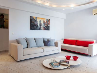 Photo for Stunning 1bdrm Apartment-Sea view in Glyfada