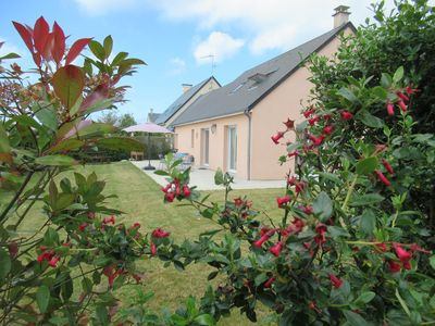 Photo for Bright house with garden near the beach in the bay of Mont-Saint-Michel