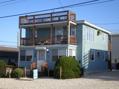 Photo for Bright & Airy Ocean Block 2 Bedroom 1 Bath Duplex just 6 houses off the Beach