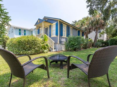 Photo for Adorable Pet Friendly Cottage in Perfect Location! Just 2 Block Stroll to Tybee's Hot Spots