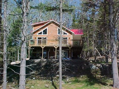Photo for Nice spacious home with access to Rangeley Lake and the snowmobile trails.