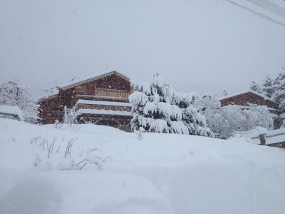Photo for CHALET IN RONDINS LES ANGLES 6 TO 9 PEOPLE 4 STARS VIEW LAKE MATEMALE