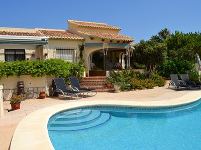 Photo for Costa Blanca, Javea, villa 4 persons, private pool