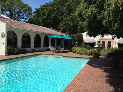 Photo for Venice Island Private Pool Oasis 3 Blocks From Beach