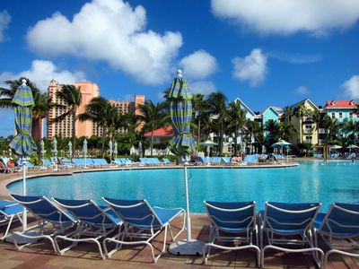 Photo for Harborside Resort at Atlantis, One Bedroom Deluxe Villa, 4 Atlantis wristbands!