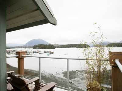 Photo for Eik Landing with amazing ocean views and walking distance to Tofino