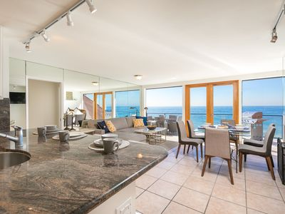 Photo for The Billion Dollar View Modern and Bright Malibu Condo – Right on the Ocean!