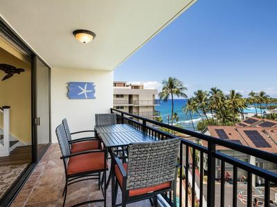 Photo for JUST RELEASED: Fabulous downtown Kona oceanview 7th floor penthouse condo.