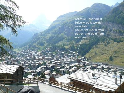 Photo for Perfectly placed for skiing / boarding and walking holidays around Zermatt