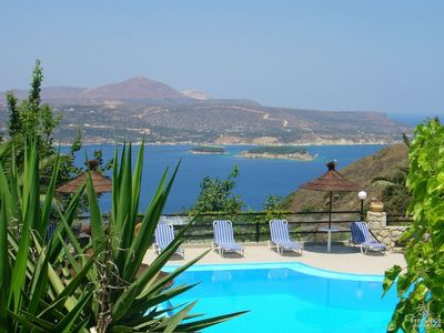 Photo for Aptera Apartment, Sleeps 4 with Pool and Air Con