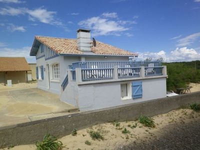 Photo for House on the sand seaside beach of st girons