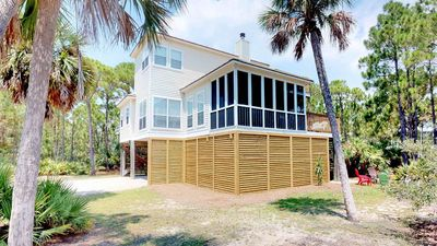 "Photo for Ready After Hurricane Michael! Pet-Friendly in the Plantation, Screened Porch and Fireplace, Free Beach Gear! 3BR/2.5BA ""Argonauta"""
