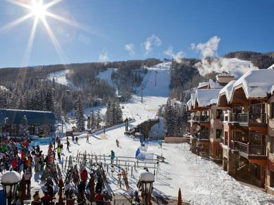 Photo for 1 MINUTE WALK TO SKI LIFT & GONDOLA! DIRECT MOUNTAIN AND SLOPES VIEW, SLEEPS 4