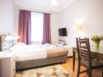 Photo for Casimir the Great  apartment in Nowe Miasto with WiFi & air conditioning.
