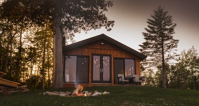 Photo for Peace of Beach, private 4 season cottage on beautiful shores of Door County
