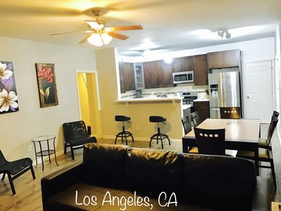 Photo for TownHouse Style 4 Bedroom Apt near DTLA, central location!