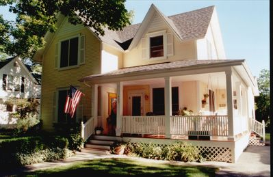 This gorgeous summer home was featured on the Charlevoix Home Tour