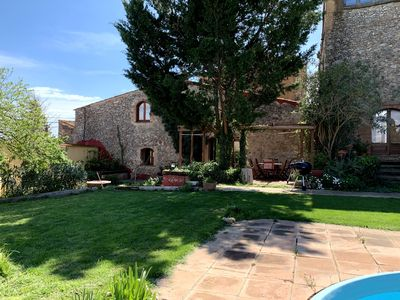 Photo for Amazing barn with shared garden, pool and WiFi in idyllic village near the sea