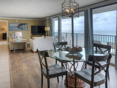 Photo for Seachase Beach~ 2 Bedrooms with unobstructed view of Gulf~ Pet Friendly!
