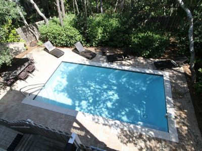 Photo for Private Pool! Five Minute Walk to Beach! Two King Suites! Four Bicycles Included! Solterra on 30A!