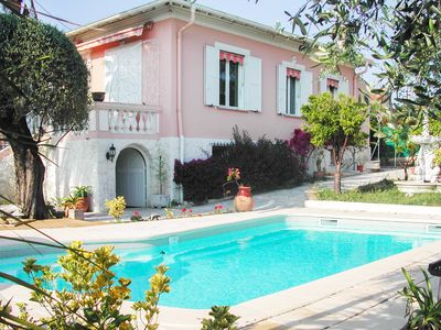 Photo for VILLA WITH PRIVATE POOL large garden at Cagnes-sur-Mer for 6 people
