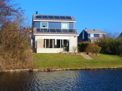 Photo for Fantastic location on the lake, Beach Park Texel, house 158